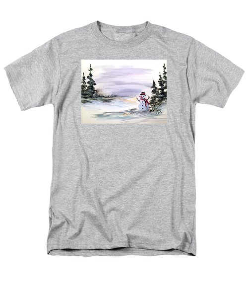 Men's T-Shirt  (Regular Fit) featuring the painting Come And Play With Me by Dorothy Maier