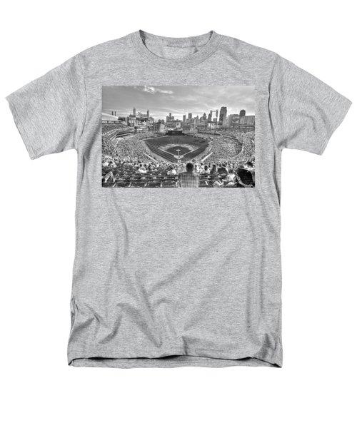 Comerica Park Men's T-Shirt  (Regular Fit) by Nicholas  Grunas