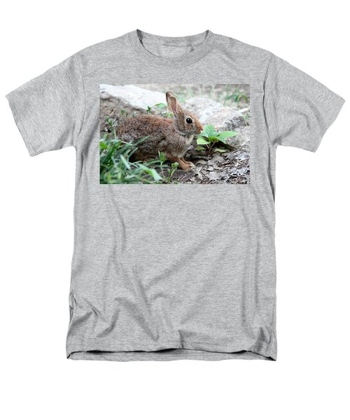 Men's T-Shirt  (Regular Fit) featuring the photograph Coming Out Of Hiding by Sheila Brown