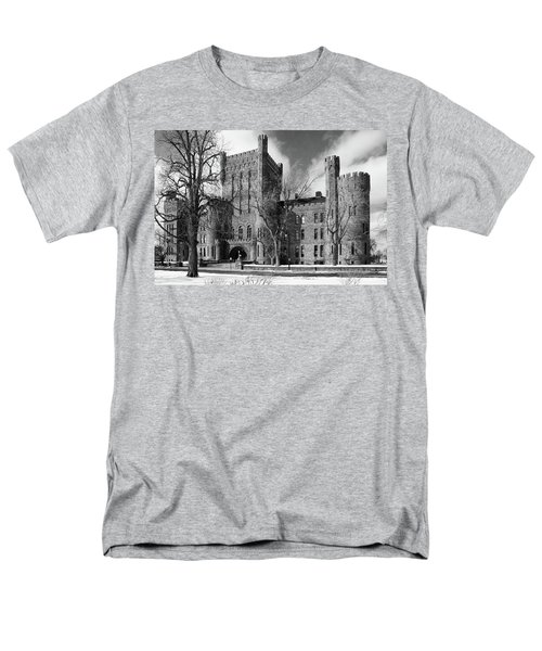 Men's T-Shirt  (Regular Fit) featuring the photograph Connecticut Street Armory 3997b by Guy Whiteley