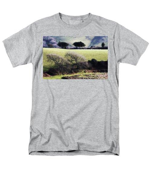 Contrast Of Trees Men's T-Shirt  (Regular Fit) by Gary Bridger