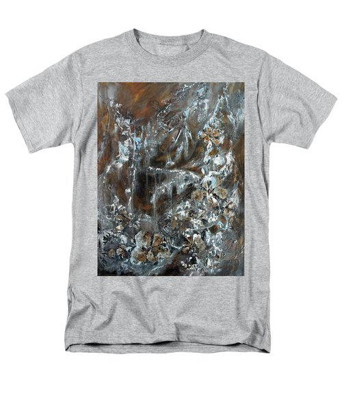Copper And Mica Men's T-Shirt  (Regular Fit) by Joanne Smoley