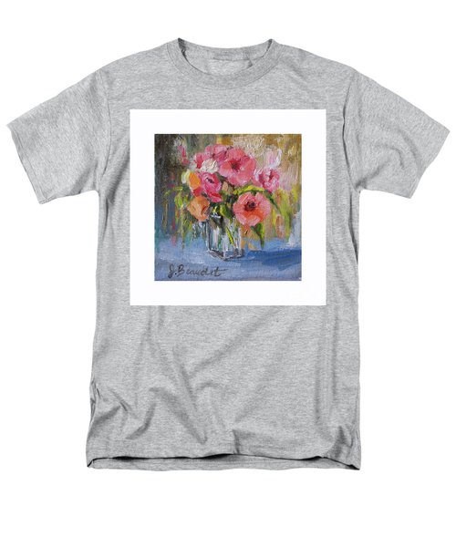 Coral Bouquet Men's T-Shirt  (Regular Fit) by Jennifer Beaudet