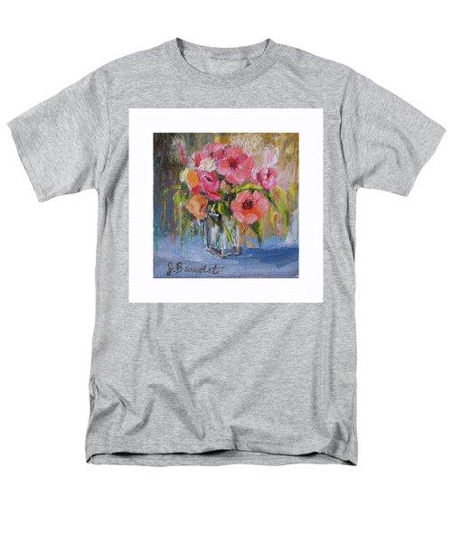 Coral Bouquet Men's T-Shirt  (Regular Fit)