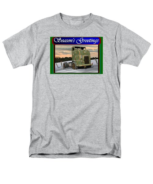 Corbitt Christmas Card Men's T-Shirt  (Regular Fit) by Stuart Swartz