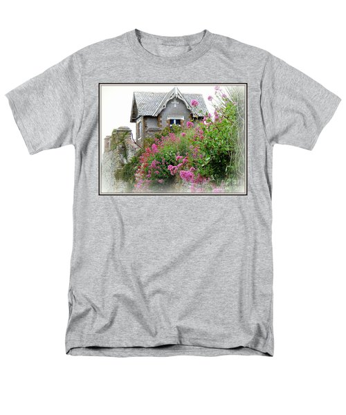 Cottage On The Hill Men's T-Shirt  (Regular Fit) by Anne Gordon