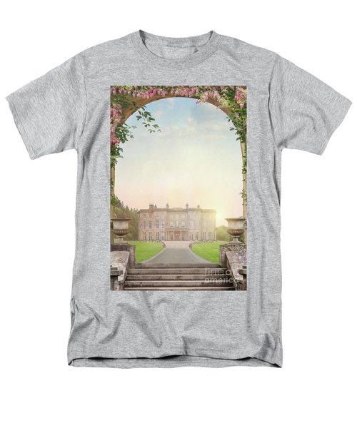 Country Mansion At Sunset Men's T-Shirt  (Regular Fit) by Lee Avison