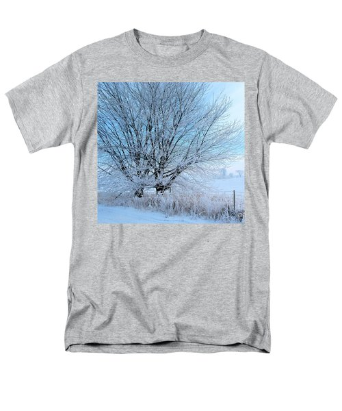 Covered In Ice Men's T-Shirt  (Regular Fit) by Heather King