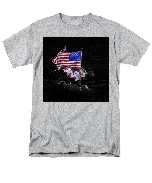 Cowboy Patriots Men's T-Shirt  (Regular Fit) by Ron White