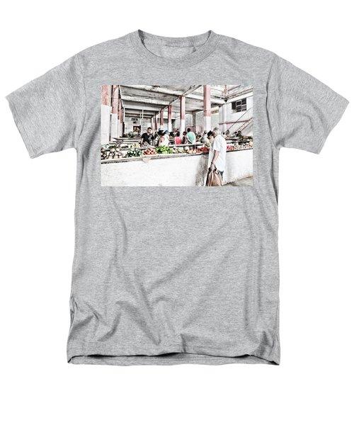 Cuba Market Men's T-Shirt  (Regular Fit)