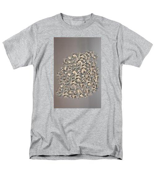 Cubism Men's T-Shirt  (Regular Fit) by Angel Jesus De la Fuente