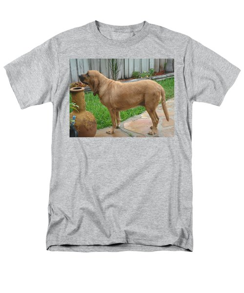 Cujo Getting A Scent Men's T-Shirt  (Regular Fit) by Val Oconnor