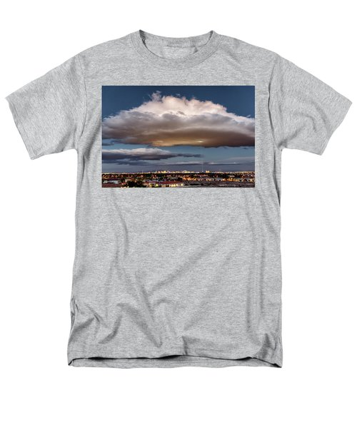 Cumulus Las Vegas Men's T-Shirt  (Regular Fit) by Michael Rogers