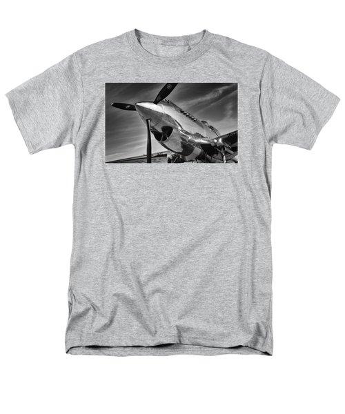 Curtiss P-40c Warhawk Men's T-Shirt  (Regular Fit) by Ian Merton