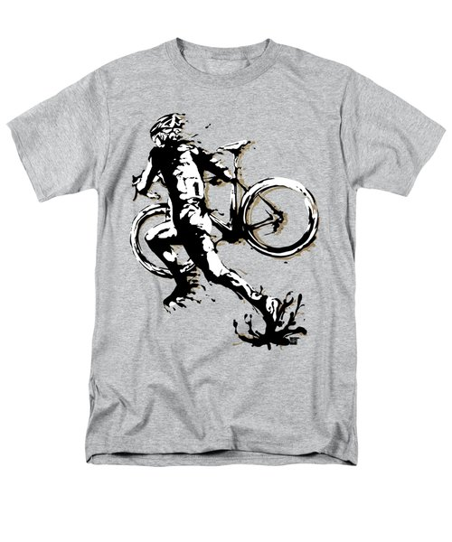 Cyclocross Poster1 Men's T-Shirt  (Regular Fit) by Sassan Filsoof