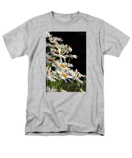 Daisies Men's T-Shirt  (Regular Fit) by Dorothy Cunningham