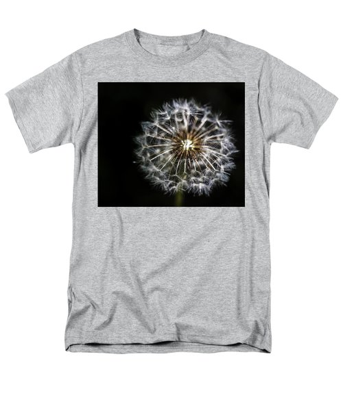 Men's T-Shirt  (Regular Fit) featuring the photograph Dandelion Seed by Darcy Michaelchuk