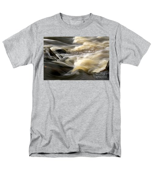 Men's T-Shirt  (Regular Fit) featuring the photograph Dave's Falls #7431 by Mark J Seefeldt