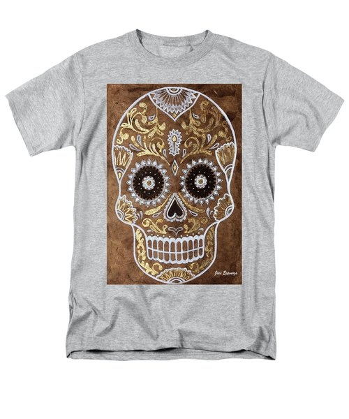 Men's T-Shirt  (Regular Fit) featuring the painting Day Of Death by J- J- Espinoza