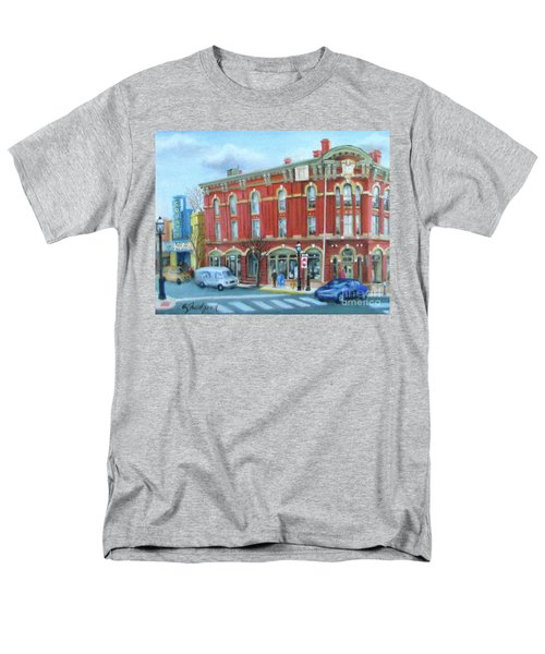 dDowntown Doylestown Men's T-Shirt  (Regular Fit) by Oz Freedgood