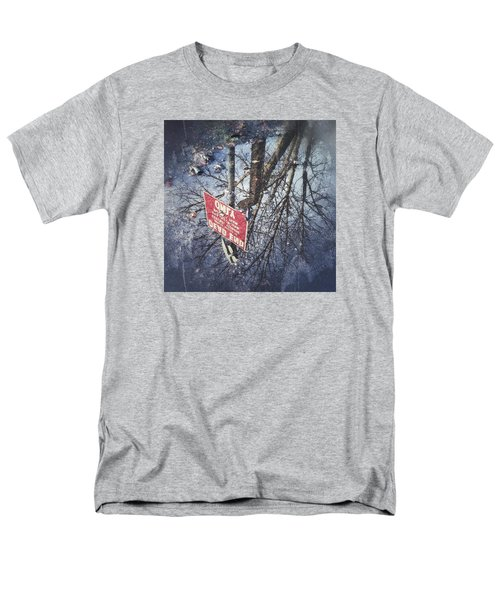 Men's T-Shirt  (Regular Fit) featuring the photograph Dead End by RKAB Works