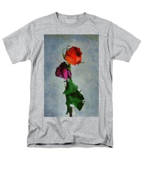 Men's T-Shirt  (Regular Fit) featuring the digital art Dead Roses by Francesa Miller