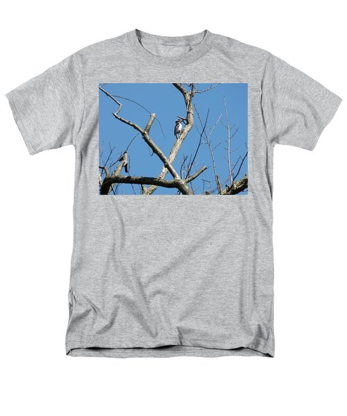 Men's T-Shirt  (Regular Fit) featuring the photograph Dead Tree - Wildlife by Donald C Morgan