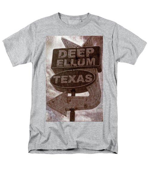 Deep Ellum Texas Men's T-Shirt  (Regular Fit) by Jonathan Davison