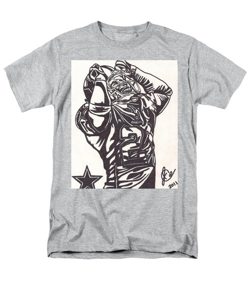 Men's T-Shirt  (Regular Fit) featuring the drawing Deion Sanders by Jeremiah Colley
