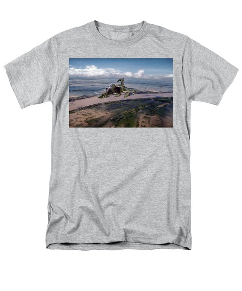 Men's T-Shirt  (Regular Fit) featuring the digital art Delta Deliverance by Peter Chilelli