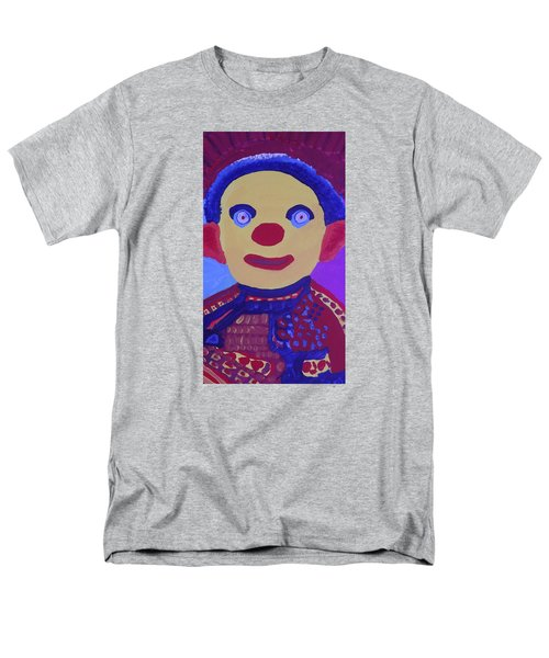 Men's T-Shirt  (Regular Fit) featuring the painting Demented Clownboy by Don Koester