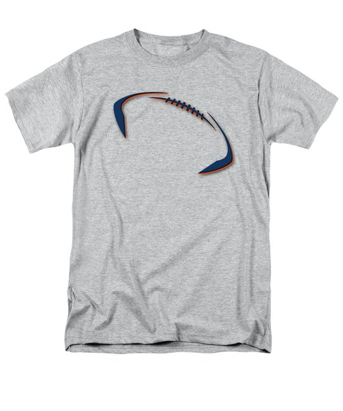 Denver Broncos Football Shirt Men's T-Shirt  (Regular Fit) by Joe Hamilton