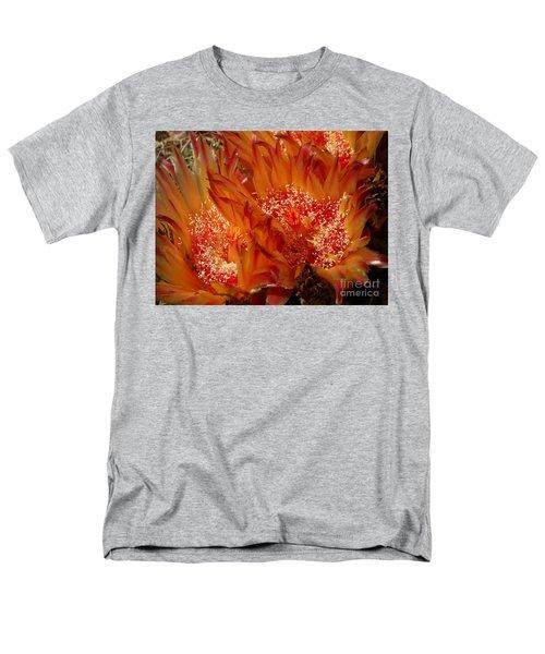 Desert Fire Men's T-Shirt  (Regular Fit) by Kathy McClure