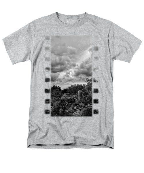 Desert In Clouds V15 Men's T-Shirt  (Regular Fit) by Mark Myhaver