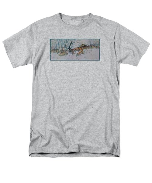 Men's T-Shirt  (Regular Fit) featuring the painting Deserted Clearing by Carolyn Rosenberger