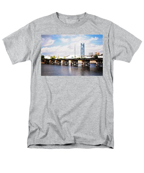 Devon Tower Men's T-Shirt  (Regular Fit) by Lana Trussell