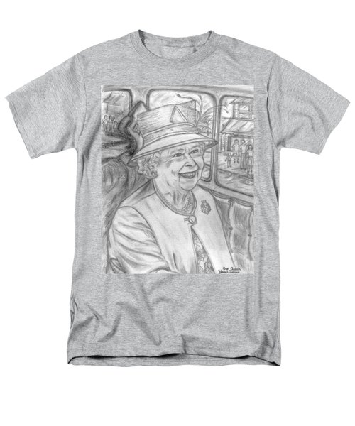 Men's T-Shirt  (Regular Fit) featuring the drawing Diamond Jubilee by Teresa White