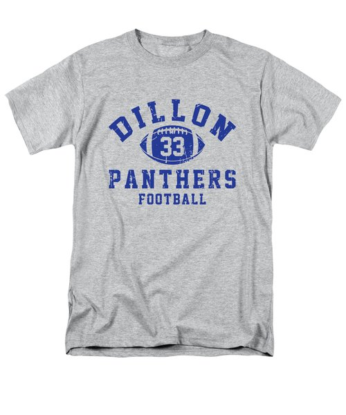 Dillon Panthers Football 2 Men's T-Shirt  (Regular Fit) by Pendi Kere
