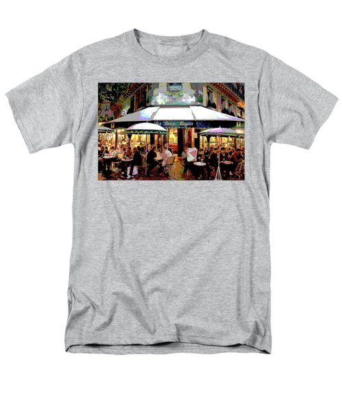 Dining Out Men's T-Shirt  (Regular Fit) by Charles Shoup