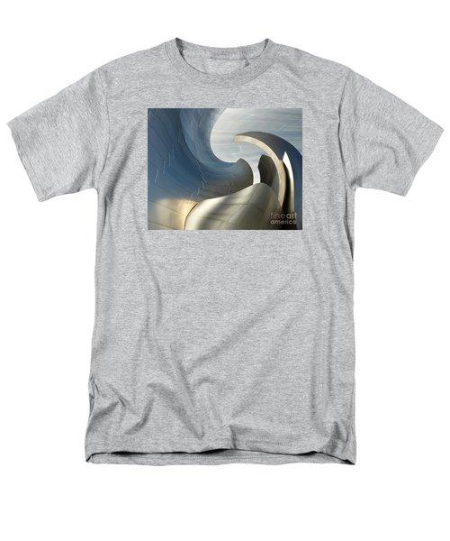 Disney Concert Hall Swirl Men's T-Shirt  (Regular Fit) by Cheryl Del Toro