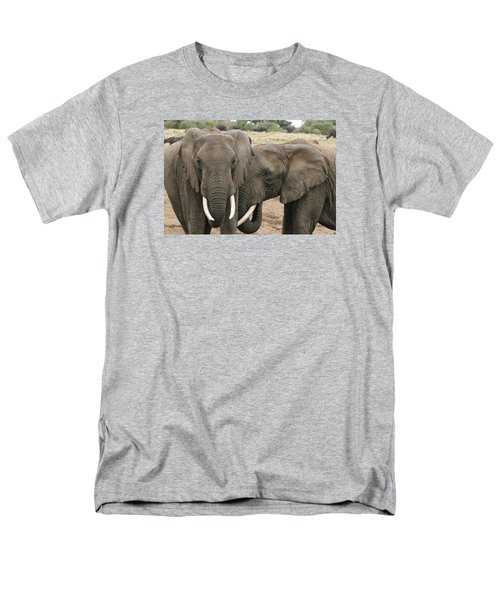 Men's T-Shirt  (Regular Fit) featuring the photograph Display Of Affection by Gary Hall