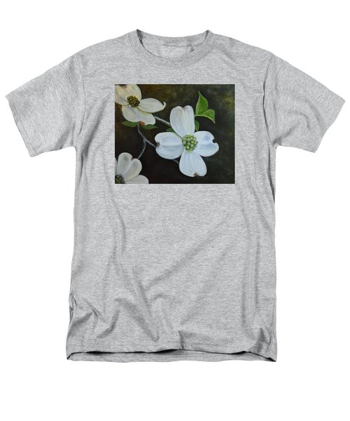 Men's T-Shirt  (Regular Fit) featuring the painting Dogwood Dream by Sandra Nardone