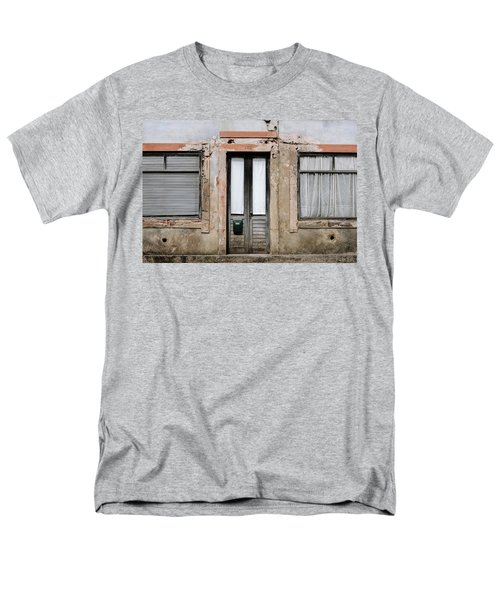Men's T-Shirt  (Regular Fit) featuring the photograph Door No 128 by Marco Oliveira