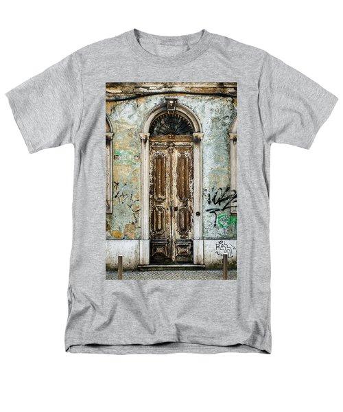 Door No 35 Men's T-Shirt  (Regular Fit) by Marco Oliveira