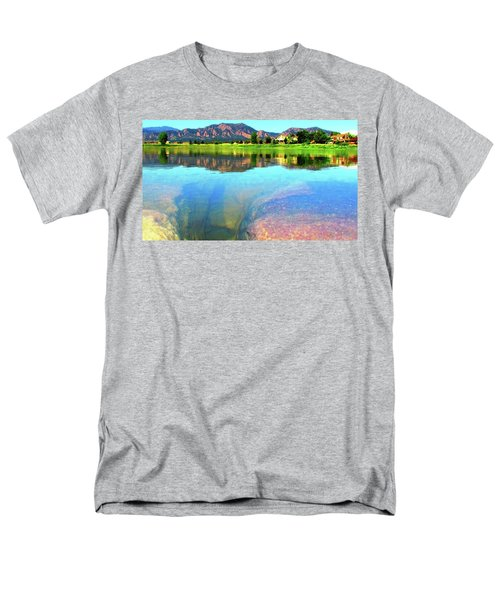 Doughnut Lake Men's T-Shirt  (Regular Fit) by Eric Dee