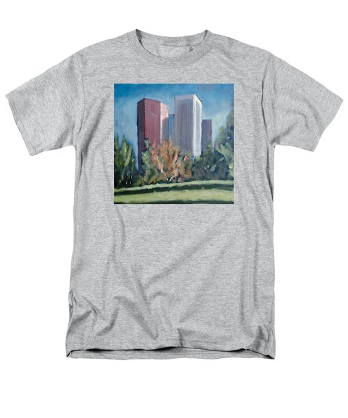 Downtown Los Angeles Men's T-Shirt  (Regular Fit) by Richard Willson