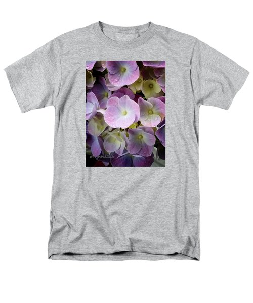 Men's T-Shirt  (Regular Fit) featuring the photograph Dreamy Hydrangea by Mimulux patricia no No