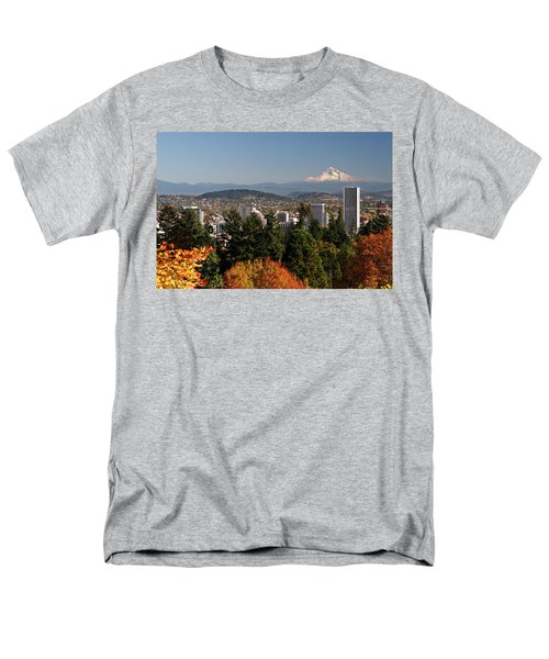 Dressed In Fall Colors Men's T-Shirt  (Regular Fit) by Wes and Dotty Weber