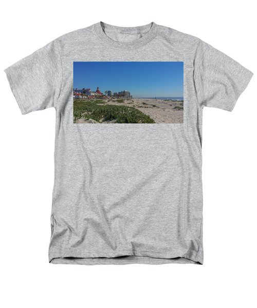 Dunes At The Del Men's T-Shirt  (Regular Fit) by Mark Barclay