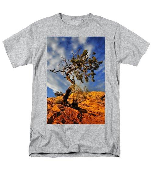 Men's T-Shirt  (Regular Fit) featuring the photograph Dusk Dance by Skip Hunt